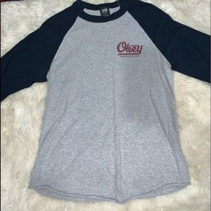 Obey long sleeve shirt